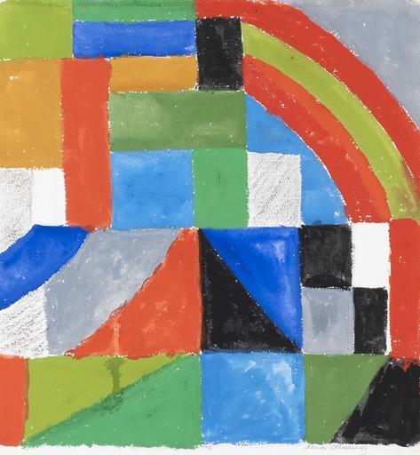 Sonia DELAUNAY-TERK - Drawing-Watercolor - Rythme couleur
