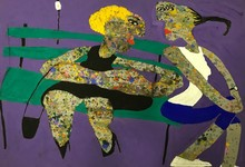 "Elisabeth SABALA - Painting - ""Tens hora nena?"