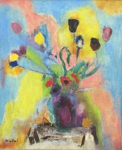 "Marcelle NADAL - Painting - ""LE GRAND BOUQUET"""