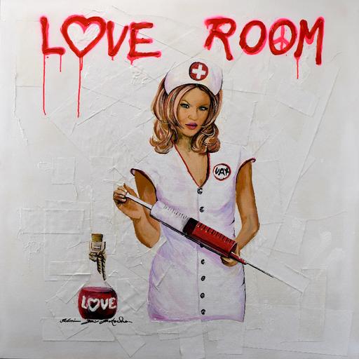 Rémi BERTOCHE - Painting - Love Room