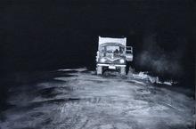 Alexey ALPATOV - Painting -  Night Road IV