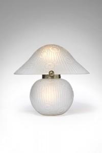 DAUM FRÈRES - Lampe Champignon