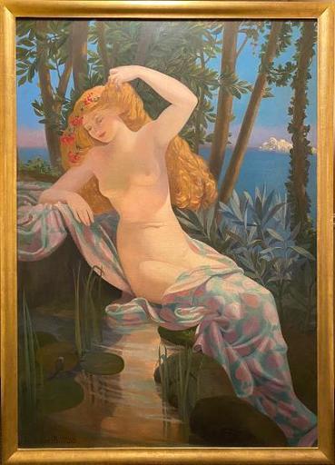 VALÈRE-BERNARD - Gemälde - Twilight