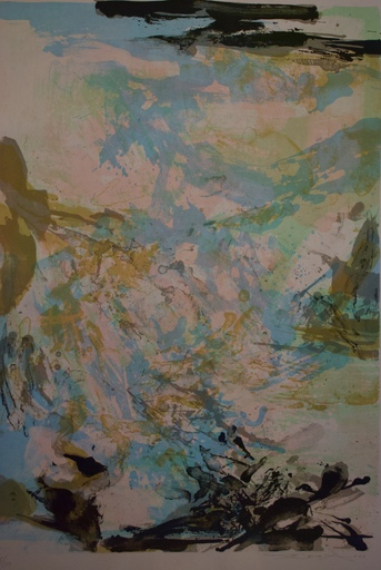 ZAO Wou-Ki - Print-Multiple - Tribute to Fellini