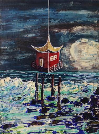 Bernard PINEAU - Painting - H034 SPAN
