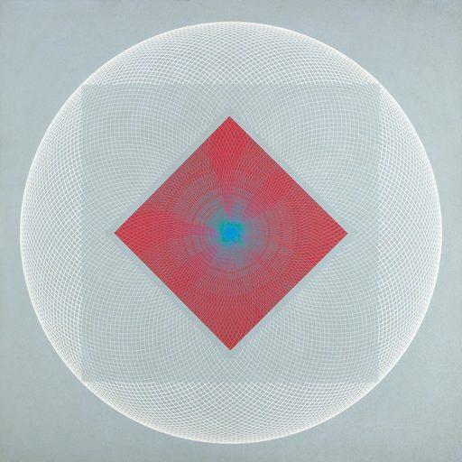 Eduardo MAC ENTYRE - Gemälde - Concentración sobre un rojo