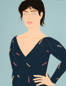 Alex KATZ, GRAY DRESS