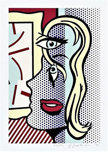 Roy LICHTENSTEIN - Estampe-Multiple - Art Critic