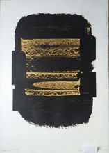 Pierre SOULAGES - Estampe-Multiple - Lithograph n°41