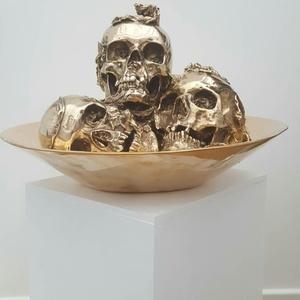 Philippe PASQUA - Escultura - coupelle de vanités
