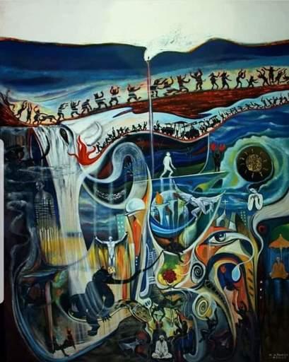 R.U. SUBAGIO - Painting - Wander