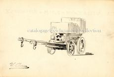 Ulpiano CHECA Y SANZ - Drawing-Watercolor - Transport de pierres  à Colmenar de Oreja