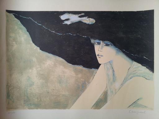 Jean-Pierre CASSIGNEUL - Grabado - LA GRANDE CAPELINE 1976  CR  118