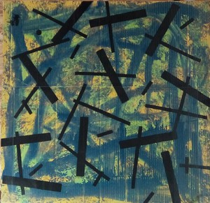 Harry BARTLETT FENNEY - Painting - mainly blu (2003)