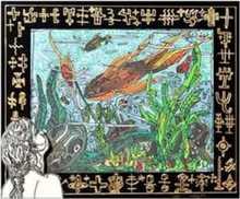 Robert COMBAS (1957) -  L'Aquarium