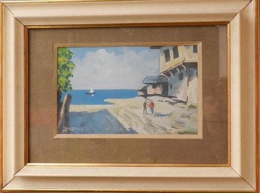 Ernest ZMETAK - Painting - Capri