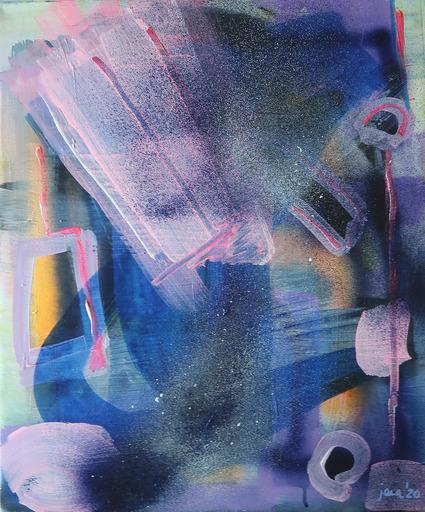 Janin WALTER - 绘画 - Ego Attacks