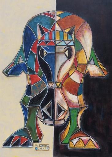 Arnaud GRACIENT - Painting - Caballus