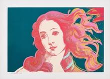 Andy WARHOL - Estampe-Multiple - Details of Renaissance Paintings (Birth of Venus) F&SII.316