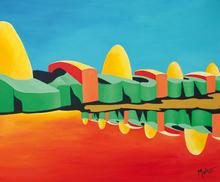 Brigitte THONHAUSER-MERK - Pintura - Fata Morgana