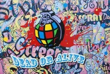 SPEEDY GRAPHITO - Painting - Dead or alive  2