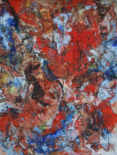 Alexandre ISTRATI - 绘画 - Composition, 1962