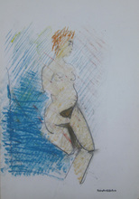 Paolo AMBROSIO - Disegno Acquarello - Figua