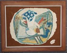 Marcel JANCO - Print-Multiple - Still Life with Vase of Flowers