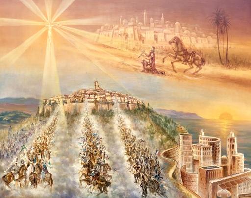 Jean DAPRAI - Pintura - La conversion de saint Paul