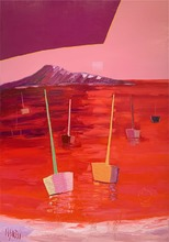Jean-Pierre MALTESE - Peinture - Jeux au bord de mer