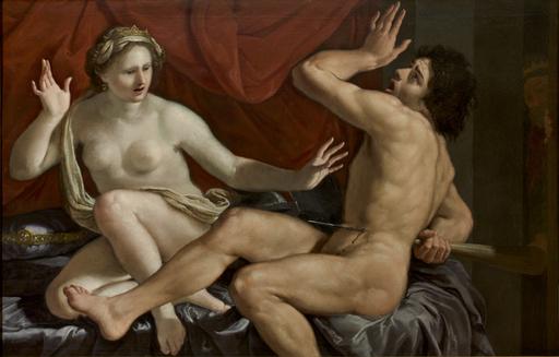 Paolo Emilio BESENZI - Painting - Gige and Candaule