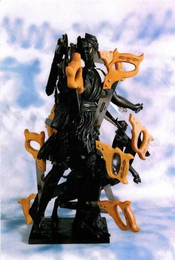 Fernandez ARMAN - Sculpture-Volume - Seghe