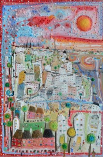 Eric CHOMIS - Gemälde - La-Comédie-de-Paris-