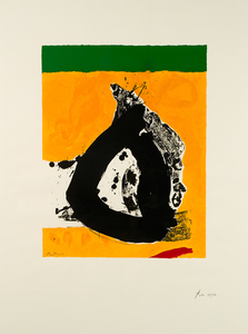 Robert MOTHERWELL, the Basque Suite #4