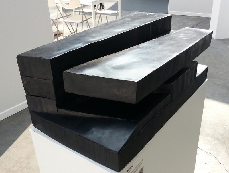 Odile DECQ - 雕塑 - Noir Fracture