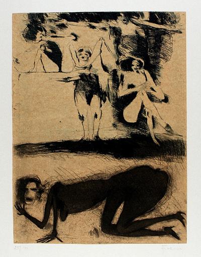 Adolf FROHNER - Print-Multiple - Die Menschenwerdung