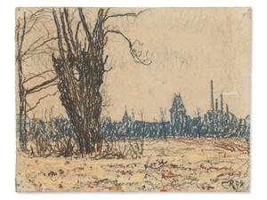 Christian ROHLFS, Landscape in Weimar