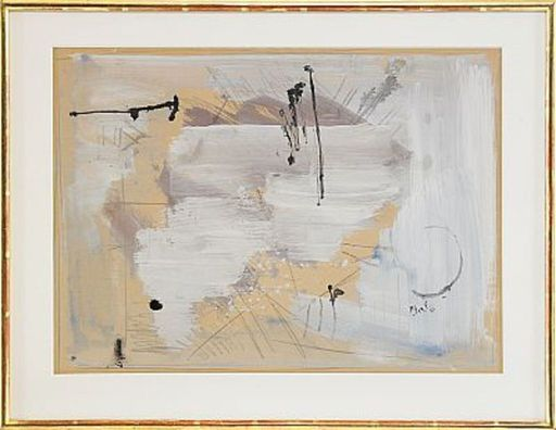 Bram BOGART - Pittura - Senza titolo
