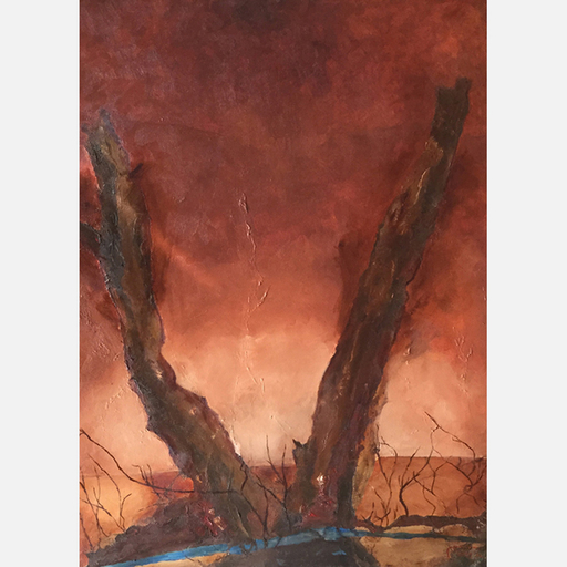 Francis MOREAU - Peinture - Horizon Perdu