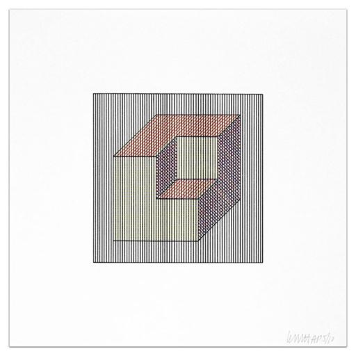 Sol LEWITT - Druckgrafik-Multiple - Plate #15