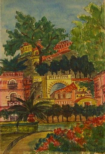 Franz WINNINGER - 水彩作品