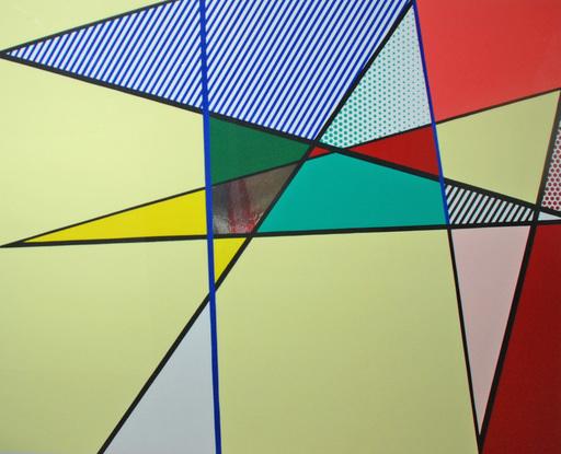 Roy LICHTENSTEIN - Stampa Multiplo - Imperfect
