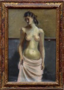 Nicolas WACKER - Pintura - FEMME NUE