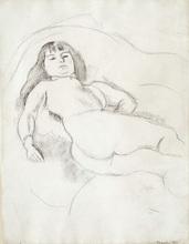 Jules PASCIN - Disegno Acquarello - Francoise