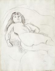 Jules PASCIN - Drawing-Watercolor - Francoise