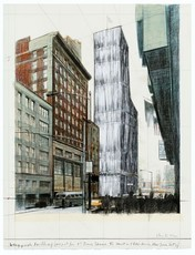CHRISTO - Print-Multiple - Wrapped Building, Times Square