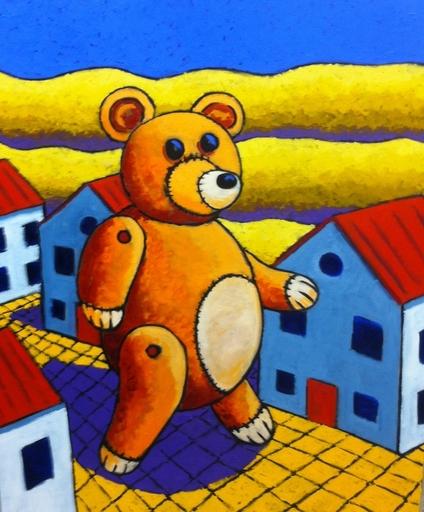 Jacques TANGE - Peinture - Suburb menace    (Cat N° 4140)