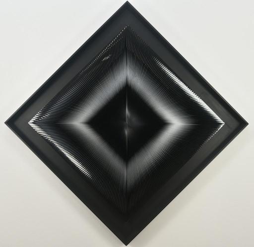 Alberto BIASI - Painting - Dinamica in quadrato
