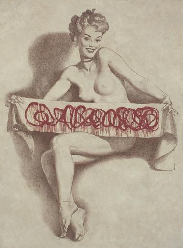Vladimir KOLESNIKOV - Painting - Censored