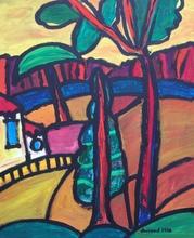 Christian DURIAUD - Pintura - Le ciel à midi
